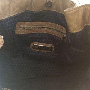Rebecca Minkoff Bags - Olive leather Rebecca Minkoff grommet hobo.